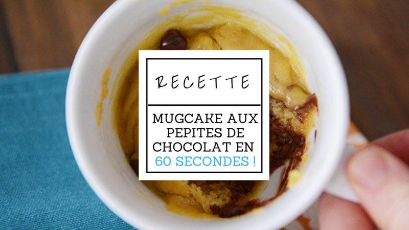 Mugcake Aux Pepites De Chocolat En 60 Secondes