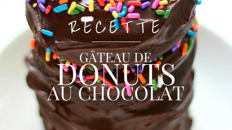 Gateau De Donuts Au Chocolat Chasseurs D Astuces