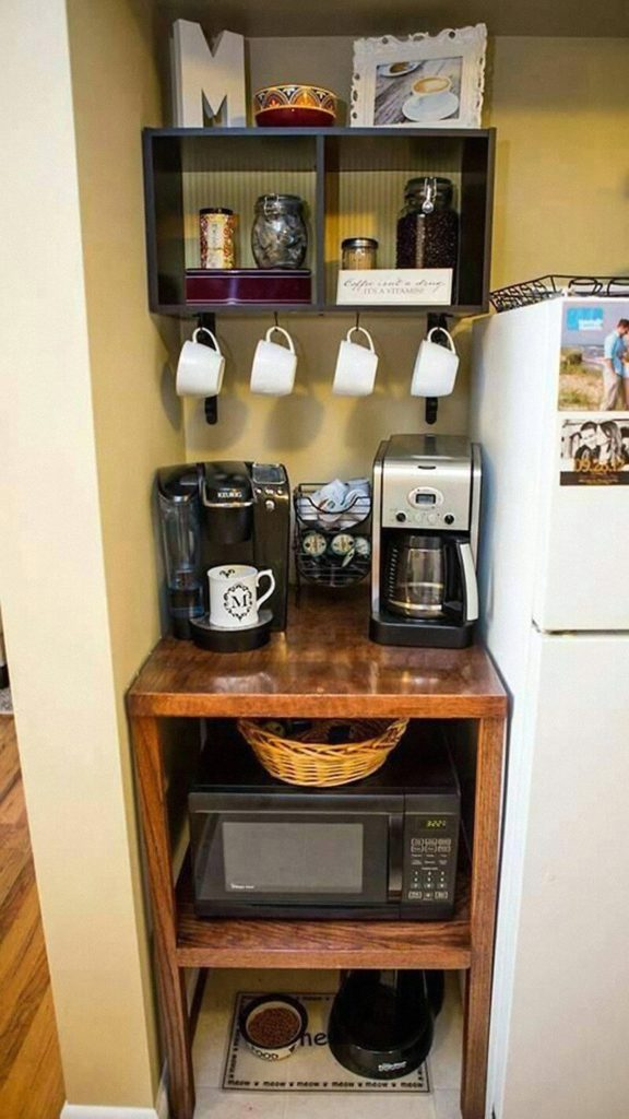 31 id es g niales pour organiser votre petite cuisine chasseurs d 39 astuces. Black Bedroom Furniture Sets. Home Design Ideas