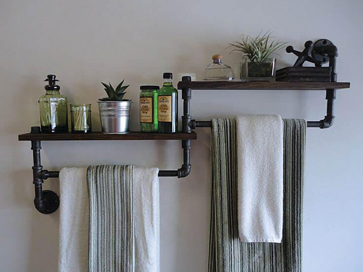 35 id es cr atives pour organiser sa petite salle de bain chasseurs d 39 astuces. Black Bedroom Furniture Sets. Home Design Ideas