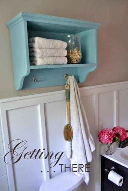 comment ranger ses serviettes de toilette avant aprs une salle de bains dans la cuisine pour. Black Bedroom Furniture Sets. Home Design Ideas