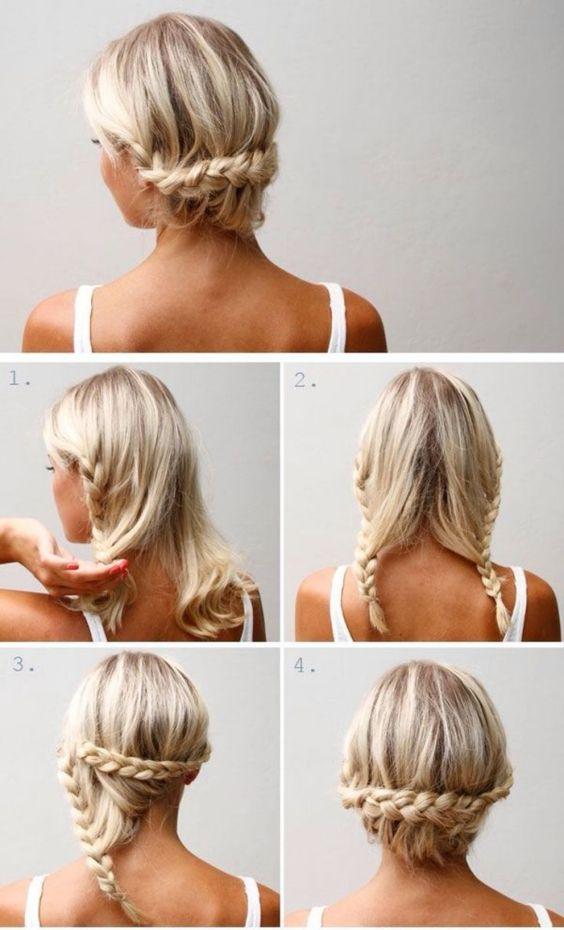 coiffure facile à réaliser