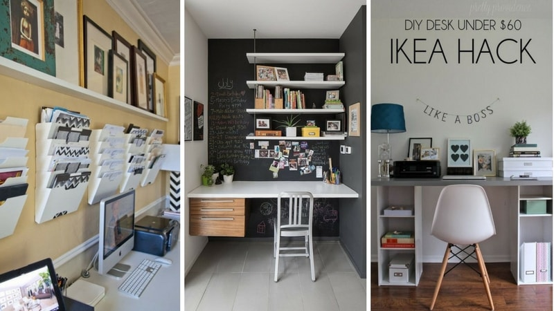 comment am nager un coin bureau la maison en 10 tapes. Black Bedroom Furniture Sets. Home Design Ideas