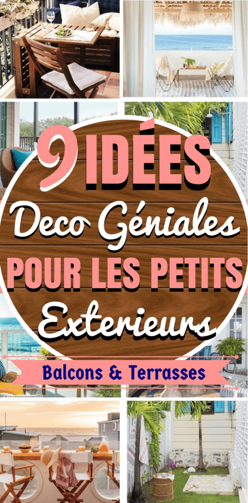 9 ides pour amnager une petite terrasse etou un petit balcon