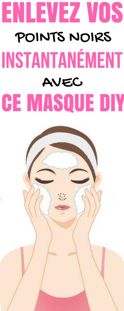 Masque DIY pour enlever les Points Noirs du Nez Rapidement ! 06a754062c0