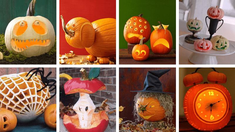 37 Façons De Tailler Une Citrouille Pour Halloween, à Connaître  Impérativement !